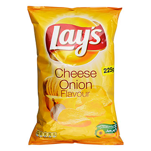 Foto Lay's chips cheese onion